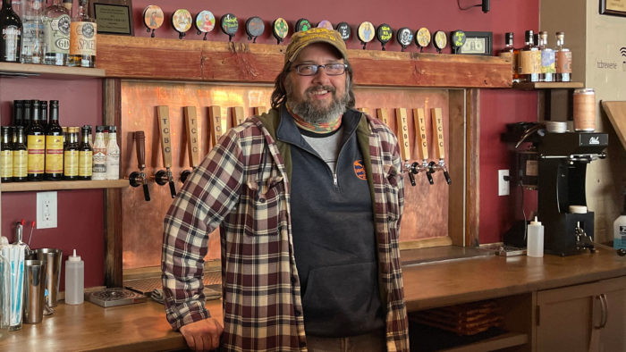 Talking Cursive Brewing Company Andrew Brooks beer